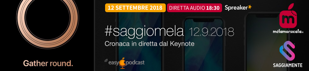 Apple Event Settembre 2018