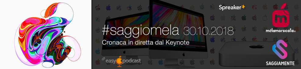 Apple Evento 30 ottobre 2018